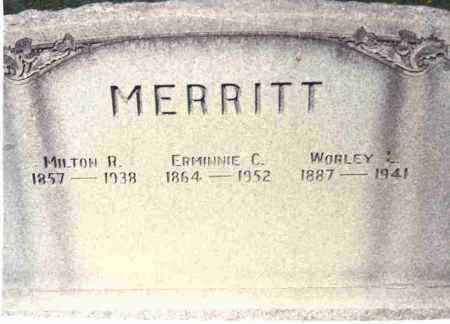 MERRITT, MILTON R. - Athens County, Ohio | MILTON R. MERRITT - Ohio Gravestone Photos