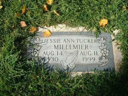 TUCKER MIELLMIER, JESSIE ANN - Athens County, Ohio | JESSIE ANN TUCKER MIELLMIER - Ohio Gravestone Photos