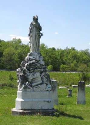 MONUMENT, ALEXANDER-UNION/OLD CUMBERLAND CEMETERY - Athens County, Ohio | ALEXANDER-UNION/OLD CUMBERLAND CEMETERY MONUMENT - Ohio Gravestone Photos