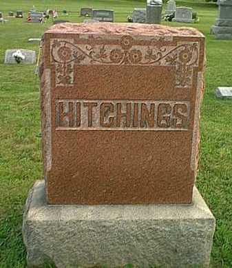 HITCHINGS, MONUMENT - Athens County, Ohio | MONUMENT HITCHINGS - Ohio Gravestone Photos