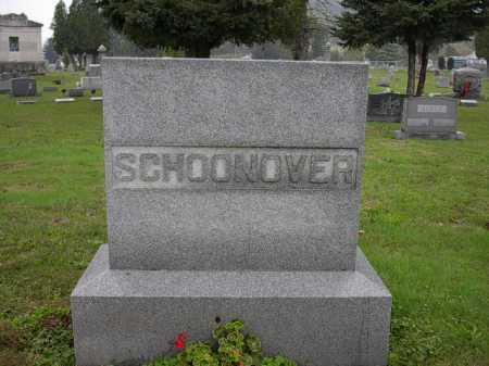 SCHOONOVER, MONUMENT - Athens County, Ohio   MONUMENT SCHOONOVER - Ohio Gravestone Photos