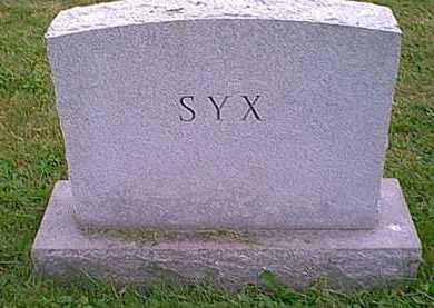 SYX, MONUMENT - Athens County, Ohio | MONUMENT SYX - Ohio Gravestone Photos