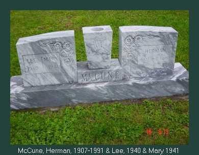 MCCUNE, MARY - Athens County, Ohio | MARY MCCUNE - Ohio Gravestone Photos