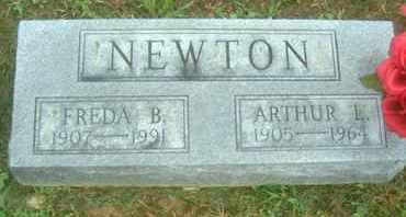 NEWTON, ARTHUR L - Athens County, Ohio   ARTHUR L NEWTON - Ohio Gravestone Photos