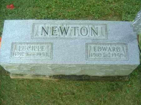 NEWTON, EDWARD - Athens County, Ohio | EDWARD NEWTON - Ohio Gravestone Photos
