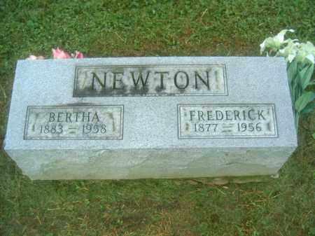 NEWTON, FREDERICK - Athens County, Ohio   FREDERICK NEWTON - Ohio Gravestone Photos