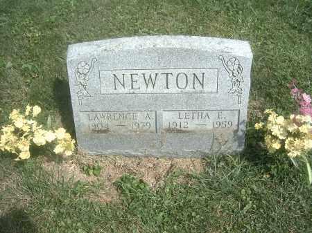 NEWTON, LAWRENCE A. - Athens County, Ohio   LAWRENCE A. NEWTON - Ohio Gravestone Photos