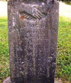 NICKOSON, DAVID - Athens County, Ohio | DAVID NICKOSON - Ohio Gravestone Photos