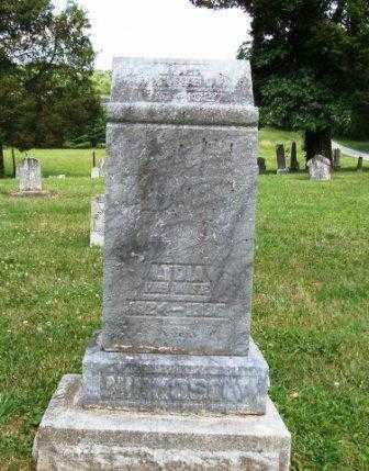 NICKOSON, LYDIA - Athens County, Ohio | LYDIA NICKOSON - Ohio Gravestone Photos