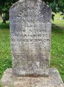 PATTERSON NICKOSON, MARGRETT ELIZABETH - Athens County, Ohio   MARGRETT ELIZABETH PATTERSON NICKOSON - Ohio Gravestone Photos