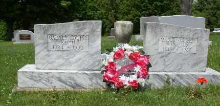 NICKOSON, MABEL GARNET - Athens County, Ohio   MABEL GARNET NICKOSON - Ohio Gravestone Photos