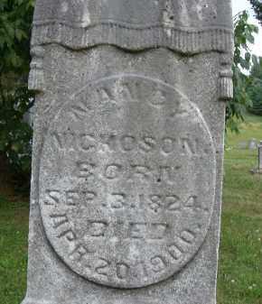 NICKOSON, NANCY - Athens County, Ohio | NANCY NICKOSON - Ohio Gravestone Photos