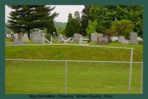 NYE, CEMETERY - Athens County, Ohio | CEMETERY NYE - Ohio Gravestone Photos