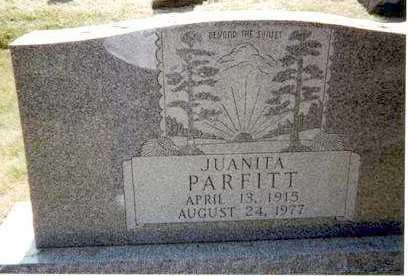 LINSCOTT PARFITT, JUANITA - Athens County, Ohio   JUANITA LINSCOTT PARFITT - Ohio Gravestone Photos