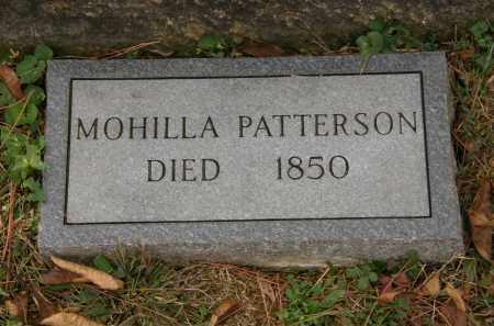 PATTERSON, MOHILLA - Athens County, Ohio | MOHILLA PATTERSON - Ohio Gravestone Photos