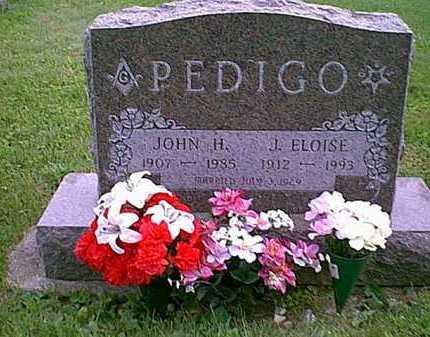 PEDIGO, JOHN H. - Athens County, Ohio | JOHN H. PEDIGO - Ohio Gravestone Photos