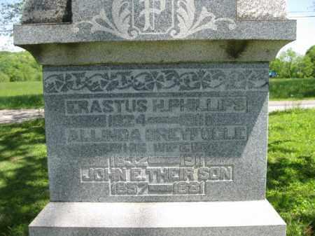 GREYFOGLE PHILLIPS, ALLINDA - Athens County, Ohio   ALLINDA GREYFOGLE PHILLIPS - Ohio Gravestone Photos