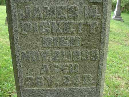 PICKETT, JAMES M. - Athens County, Ohio   JAMES M. PICKETT - Ohio Gravestone Photos
