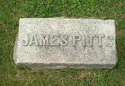 PITTS, JAMES - Athens County, Ohio | JAMES PITTS - Ohio Gravestone Photos
