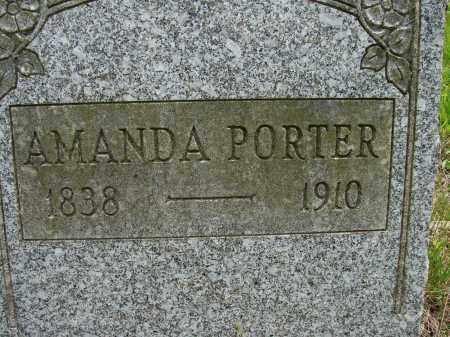 PORTER, AMANDA - Athens County, Ohio | AMANDA PORTER - Ohio Gravestone Photos