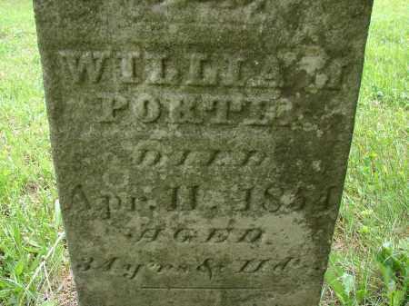 PORTER, WILLIAM - Athens County, Ohio | WILLIAM PORTER - Ohio Gravestone Photos
