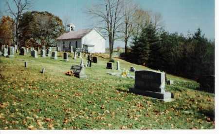 PRATT'S FORK, CHURCH AND CEMETERY - Athens County, Ohio | CHURCH AND CEMETERY PRATT'S FORK - Ohio Gravestone Photos
