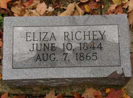 RICHEY, ELIZA - Athens County, Ohio   ELIZA RICHEY - Ohio Gravestone Photos