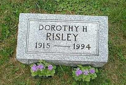 THOMPSON RISLEY, DOROTHY H. - Athens County, Ohio | DOROTHY H. THOMPSON RISLEY - Ohio Gravestone Photos
