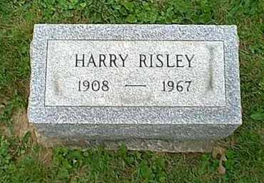 RISLEY, HARRY - Athens County, Ohio | HARRY RISLEY - Ohio Gravestone Photos