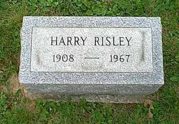 RISLEY, HARRY - Athens County, Ohio | HARRY RISLEY - Ohio Gravestone Photos