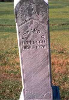 ROBINSON, EDWARD C. - Athens County, Ohio   EDWARD C. ROBINSON - Ohio Gravestone Photos