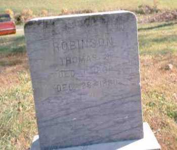ROBINSON, THOMAS J. - Athens County, Ohio   THOMAS J. ROBINSON - Ohio Gravestone Photos