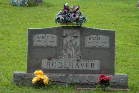 RODEHAVER, HARRY R - Athens County, Ohio | HARRY R RODEHAVER - Ohio Gravestone Photos