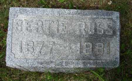 RUSS, BERTIE - Athens County, Ohio | BERTIE RUSS - Ohio Gravestone Photos