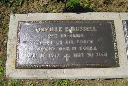 RUSSELL, ORVILLE E. - Athens County, Ohio | ORVILLE E. RUSSELL - Ohio Gravestone Photos