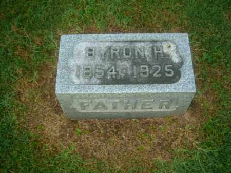 SANDERS, BYRON - Athens County, Ohio   BYRON SANDERS - Ohio Gravestone Photos