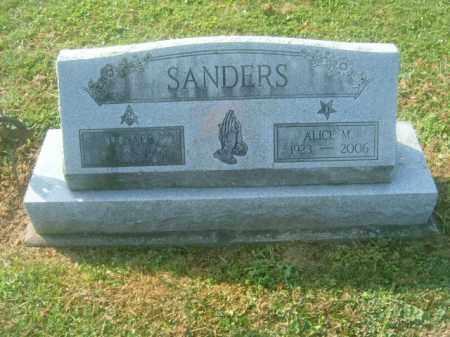 SANDERS, DONALD - Athens County, Ohio | DONALD SANDERS - Ohio Gravestone Photos