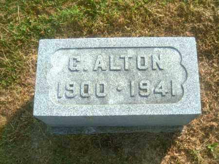 SANDERS, G. ALTON - Athens County, Ohio | G. ALTON SANDERS - Ohio Gravestone Photos