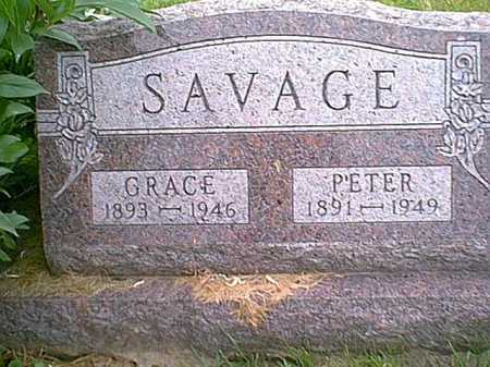 SAVAGE, GRACE - Athens County, Ohio | GRACE SAVAGE - Ohio Gravestone Photos