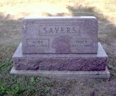 KASLER SAYERS, NORA - Athens County, Ohio | NORA KASLER SAYERS - Ohio Gravestone Photos