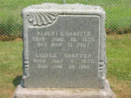 BROWN SHAFFER, LOUISA - Athens County, Ohio | LOUISA BROWN SHAFFER - Ohio Gravestone Photos