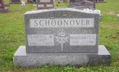 "SCHOONOVER, CLARENCE W. ""CRIP"" - Athens County, Ohio | CLARENCE W. ""CRIP"" SCHOONOVER - Ohio Gravestone Photos"