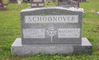 "SCHOONOVER, CLARENCE W. ""CRIP"" - Athens County, Ohio 