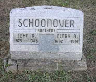 SCHOONOVER, CLARK A. - Athens County, Ohio   CLARK A. SCHOONOVER - Ohio Gravestone Photos