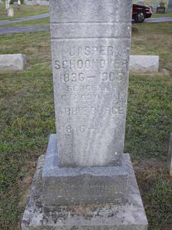 SCHOONOVER, JASPER - Athens County, Ohio | JASPER SCHOONOVER - Ohio Gravestone Photos