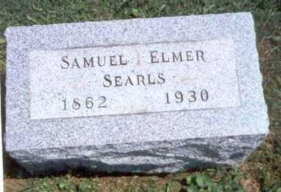SEARLS, SAMUEL ELMER - Athens County, Ohio   SAMUEL ELMER SEARLS - Ohio Gravestone Photos