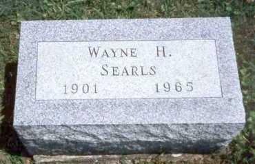 SEARLS, WAYNE H. - Athens County, Ohio | WAYNE H. SEARLS - Ohio Gravestone Photos