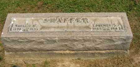 SHAFFER, LORENZO SMART - Athens County, Ohio | LORENZO SMART SHAFFER - Ohio Gravestone Photos
