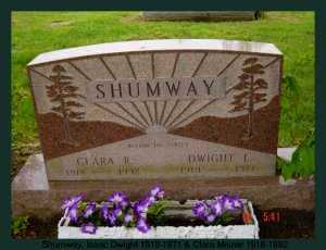 MISNER SHUMWAY, CLARA - Athens County, Ohio | CLARA MISNER SHUMWAY - Ohio Gravestone Photos
