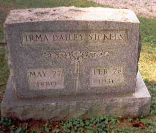 SICKELS, IRMA - Athens County, Ohio | IRMA SICKELS - Ohio Gravestone Photos